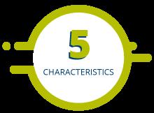 5 Characteristics symbol
