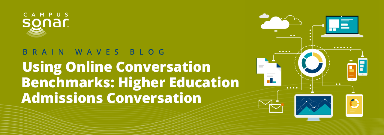Using Online Conversation Benchmarks: Higher Education Admissions Conversation blog image