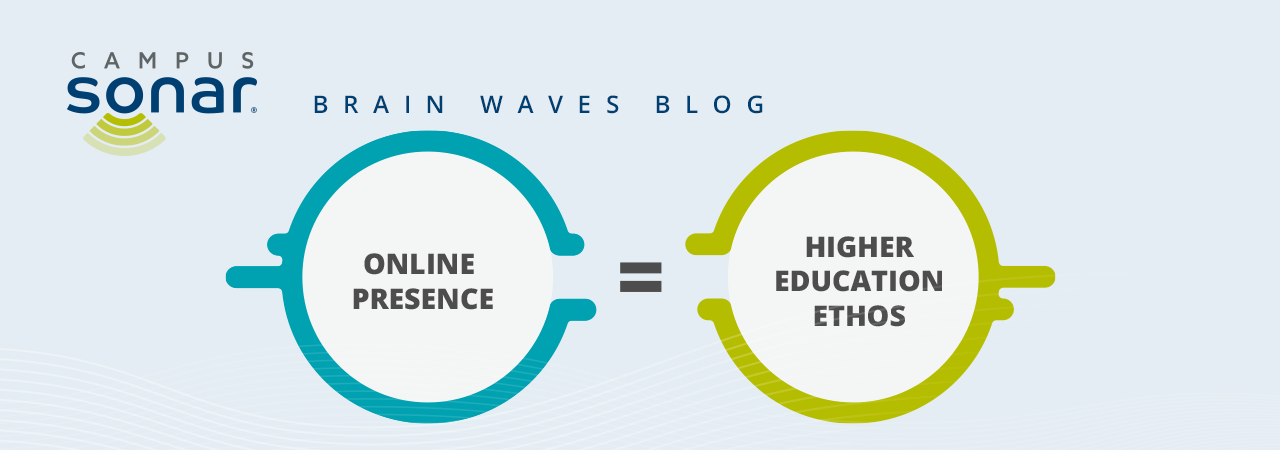 Online Presence = Higher Education Ethos