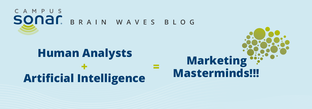 Blog post image for Human Analysts + Artificial Intelligence = Marketing Masterminds