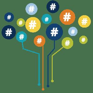 hashtag-tree