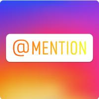 insta-mention