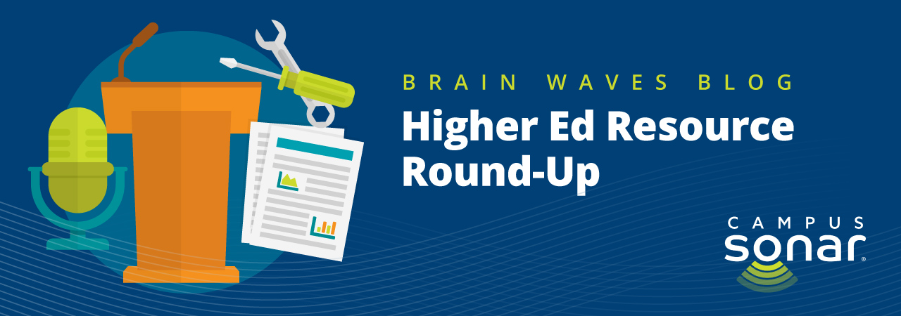 Blog post image for Higher Ed Resource Round-Up