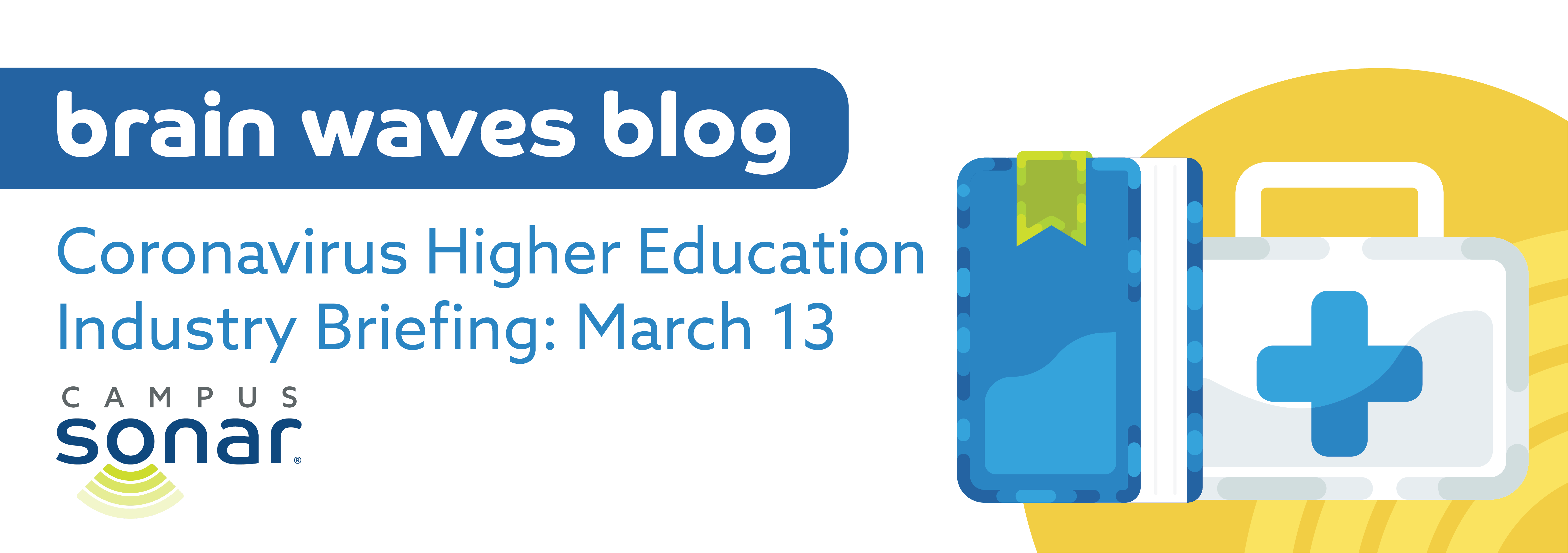 Blog post image for Coronavirus Higher Education Industry Briefing: March 13