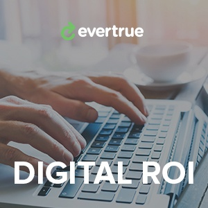 EverTrue Digital ROI: hands typing on a keyboard