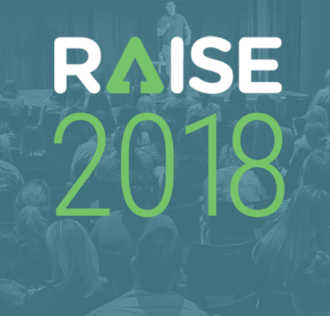 RAISE 2018 overlaying conference image