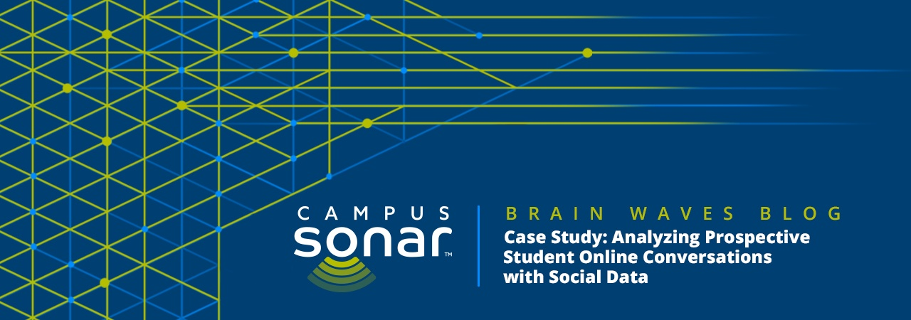 Campus Sonar blog image for Case Study: Analyzing Prospective Student Online Conversations with Social Data