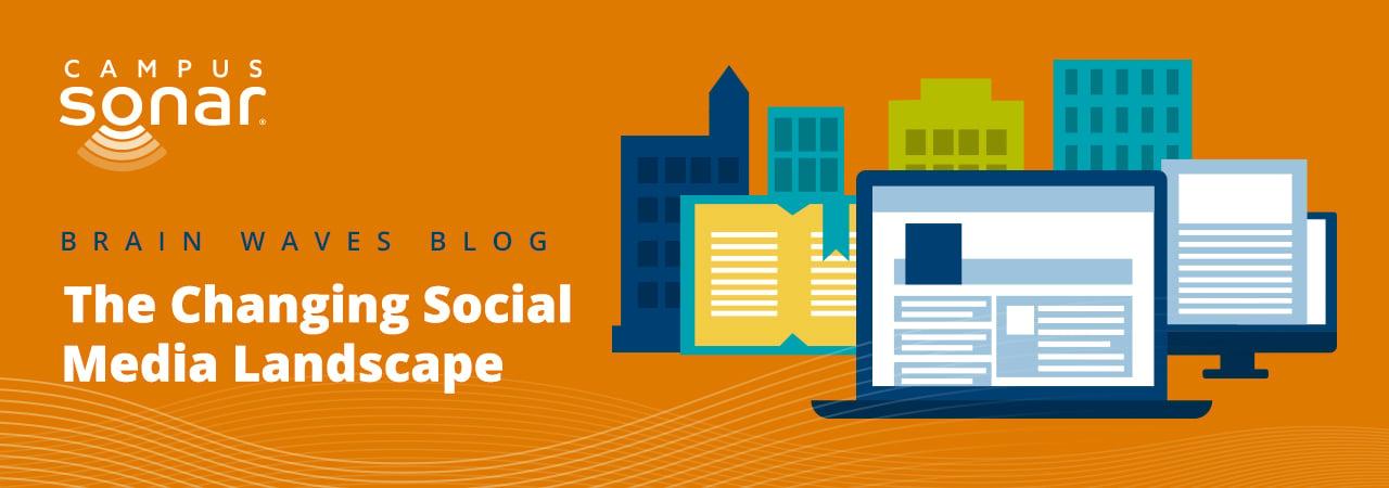 Blog post image for The Changing Social Media Landscape blog