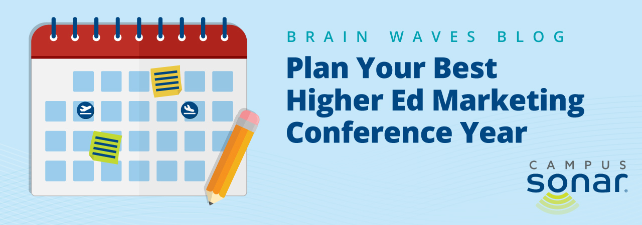 Blog image for Play Your Best Higher Ed Marketing Conference Year