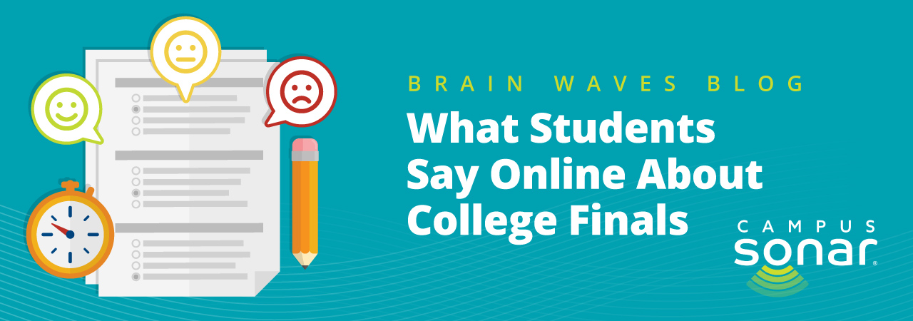 Blog post image for What Students Say Online About College Finals