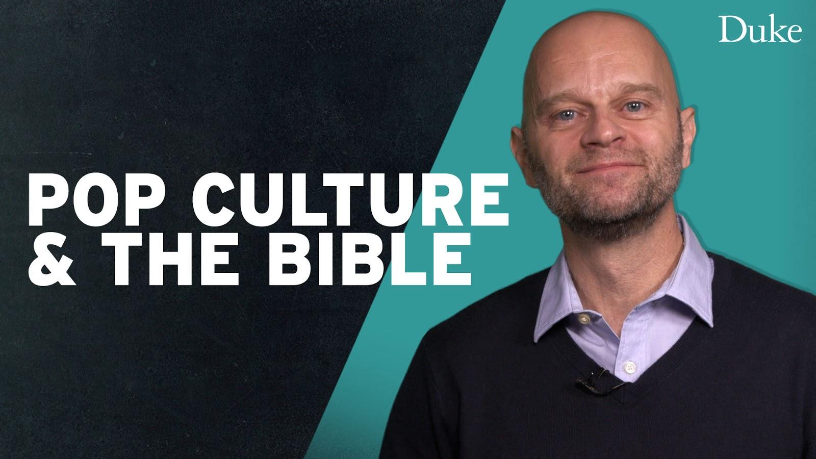 Duke's Pop Culture & The Bible YouTube thumbnail