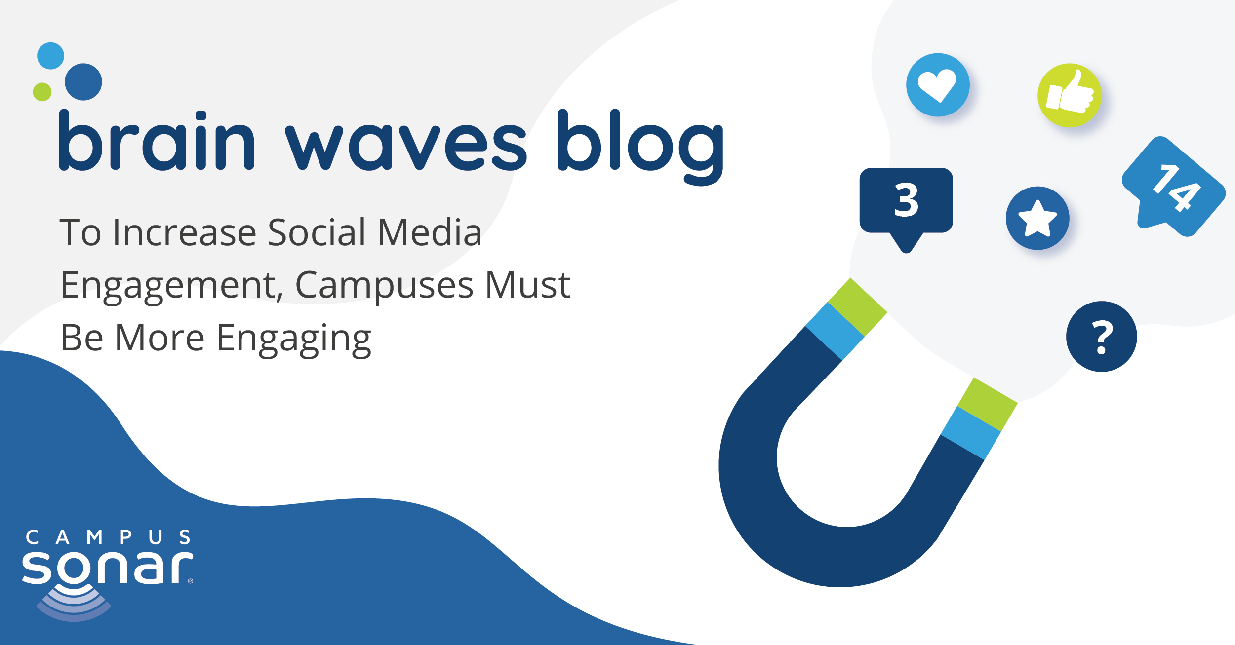 Brain Waves Blog: To Increase Social Media Engagement, Campuses Must Be More Engaging
