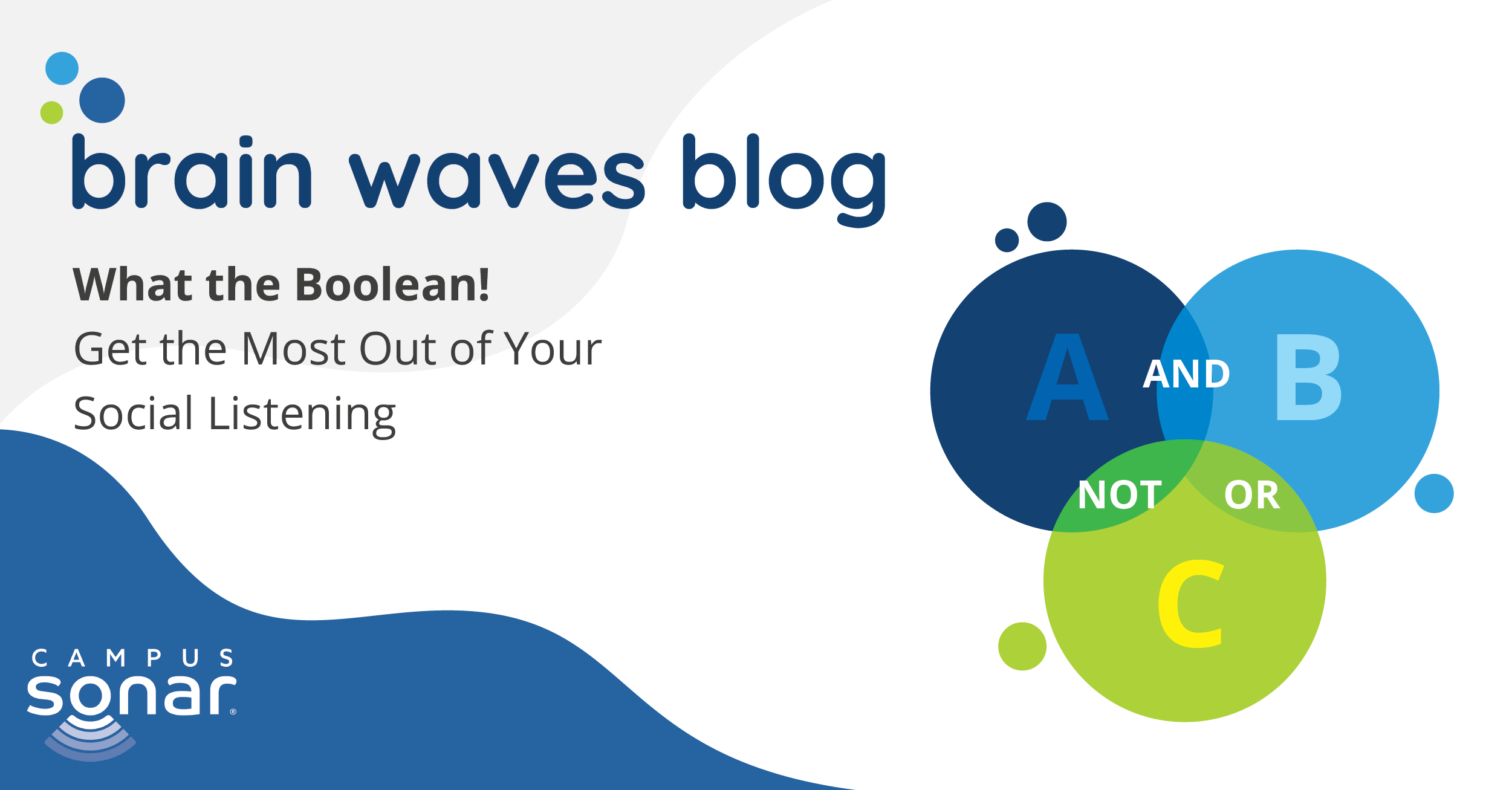 Brain Waves Blog: What the Boolean! Get the Most Out of Your Social Listening
